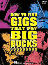 How to Find Gigs that Pay Big Bucks (DVD, 2003)