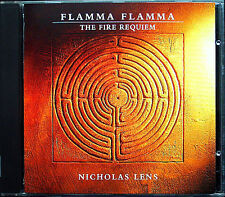 Nicholas LENS b.1957 Flamma Flamma: The Fire Requiem CD 1994 Claron McFadden