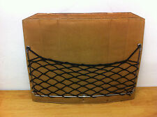 Front seat back panel polomino with net mesh for MB W123  Mercedes