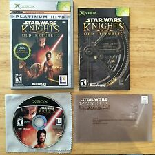 Star Wars: Knights of the Old Republic Xbox System Complete Game
