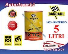 5 LT LITRI OLIO MOTORE AUTO BARDAHL XTC C60 15W50 POLAR PLUS FULLERENE