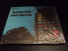 "CD DIGIPACK NEUF ""EXOTIC INTERLUDE - HOMELIFE"" 10 morceaux"