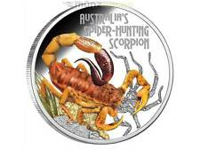 1 $ Dollar Deadly & Dangerous 2014 Spider Hunting Scorpion Tuvalu 1 oz Silber PP