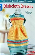 Knit Dishcloth Dresses  Patterns From Leisure Arts