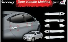 MPORTED Chrome Door Handle Latch Cover For Hyundai New Verna Fluidic.