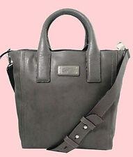 MARC Marc Jacobs Mility Cylinder Grey Utility Tote Shoulder Bag Msrp $478