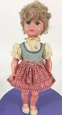 "Ratti Signed Doll Italy Vintage 17"" Italian Costume Sleep Eyes International"