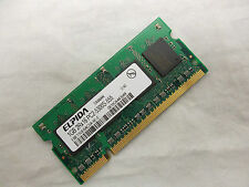 Elpida Notebook Memory 1GB 2Rx16 PC2-5300S-555 667MHz 200-Pin EBE11UE6ACSA-6E-E