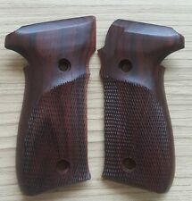 Rosewood SIG SAUER 226  Handmade Grips Smith & WESSON SPRINGFIELD GRIP