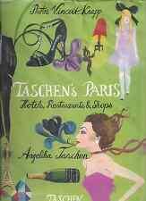 """Angelika Taschen """"TASCHEN'S PARIS: Hotels, Restaurants & Shops"""" (2010) VERY RARE"""