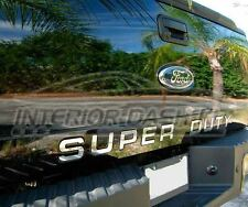 FORD F-250 F-350 F250 SUPER DUTY REAR CHROME LETTER INSERTS SET 2011 2012 2013