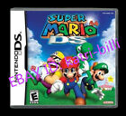 Nintendo Super Mario 64 DS Version Game Card WITH BOX AND MANUAL