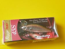 ZipBaits Rigge FLAT 45S Brilliant Silver