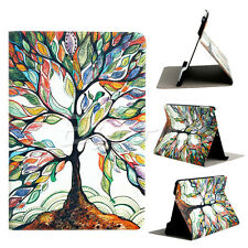 New Sale Tree Pattern Flip Stand PU Leather Case Cover For Apple iPad Mini 1 2 3