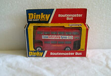 NEW IN BOX NIB 1978 DINKY DIE-CAST TOYS ROUTEMASTER BUS # 289~CASE FRESH