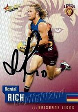 ✺Signed✺ 2014 BRISBANE LIONS AFL Card DANIEL RICH