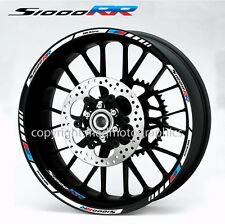 BMW s1000RR motorcycle wheel decals 12 rim sticker set hp4 motorrad Motorsport