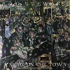 ROD STEWART ‎- A Night On The Town (LP) (EX/EX)