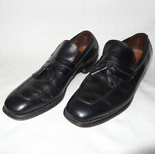 Men's ALLEN EDMONDS Biscayne Black LEATHER Tassel Loafers Dress Shoes Sz. 10.5A