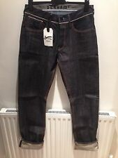 Denham Dry Japanese Selvage Denim Mens Jeans Brand New With Tags