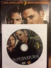 Supernatural - Season 7, Disc 3 REPLACEMENT DISC (not full season)