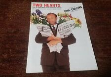 Two hearts a song by Phil Collins piano vocal guitar sheet music NEW
