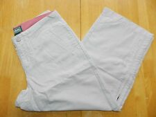 WOMENS lightweight tan capri PANTS = L.L.BEAN = SIZE 4REG = km77