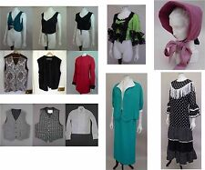 Large quantity of fancy dress or pantomime clothes, Victorian style bodice
