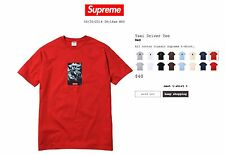 New Supreme Taxi Driver Tee RED Large Box Logo bogo 20th anniversary cdg pcl
