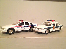 Washington DC Metro & Trenton N J Police Road Champs Pair Private Collection