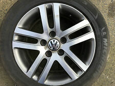 "GENUINE VW GOLF TOURAN JETTA 16"" INCH ATLANTA SPARE ALLOY WHEEL TDI 1K0601025BM"