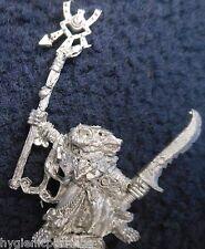 1993 Skaven 74461/1 Gris Vidente thanquol caos ratmen Citadel Warhammer Warlock Gw