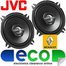 Renault Clio 98-09 JVC 13cm 5.25 Inch 500 Watts 2 Way Front Door Car Speakers