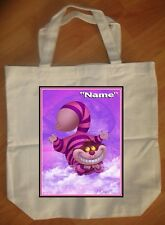 """Cheshire Cat Alice In Wonderland"" Personalized Tote Bag - NEW"
