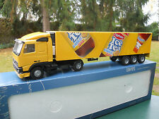 "LION TOYS  1/50 VOLVO FH 12 + SEMI ISOTHERME "" ICE TEA""  MINT IN BOX"