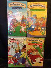 THE BERENSTAIN BEARS LOT OF 4 BRAND NEW OOP VHS SEALED BEARS TEAM UP!