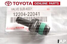 TOYOTA COROLLA 1999-2008  MATRIX 2003-2008 PCV Valve NEW GENUINE OEM 12204-22041
