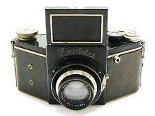 Exakta VP model B type 4.1 camera with 7.5cm f/2.8 Tessar lens Exacta EXC+