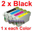 5 INK CARTRIDGES T133 133 for EPSON Printer NX125 NX130 NX420 Workforce 320 325