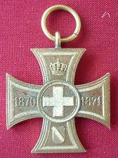Orden, Baden, Erinnerungskreuz für freiwillige krankenpflege 1870/71