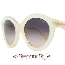 Tom Ford Round Sunglasses TF359 Chiara 21B Mother of Pearl FT0359