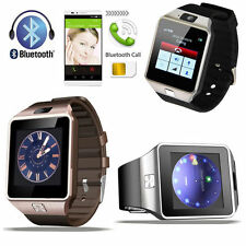 Unlocked GSM Bluetooth Smartwatch Phone Mate Armband Uhr für Android 2G SIM