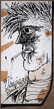 Vinicio Berti China su cartoncino Cm 22 x 11 Anno 1957