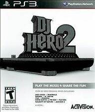 Dj Hero 2 Game Only (Playstation 3 PS3 Music Mixing Activision Beats) Excellent