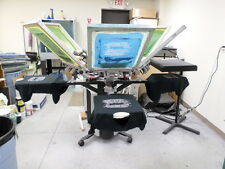 Printa 770 Series Deluxe 6 Color Screen Printing Press- profitable, productive