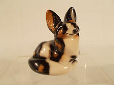 WINDSTONE EDITIONS GRAB BAG PEBBLE BAT EARED WILD DOG FOX SIGNED MELODY PENA