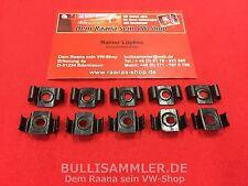 VW Bus T2 10x Klammer Metall Zierleisten Zierleiste Zierleistenklammer (0407-500