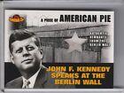 2001 TOPPS AMERICAN PIE #PAPM2 JFK BERLIN WALL RELIC 1316