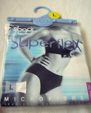 Sloggi superflex UK Large/16-18 new sealed, white (one item - one ladies brief)