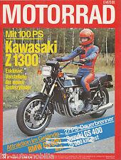 Motorrad 23 78 Bultaco Benelli 350 RS BMW R 80 GS Kawasaki Z1300 KTM 50 RSW 1978
